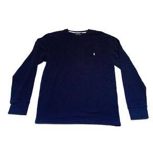 Polo Ralph Lauren Men's Large Navy Blue Sweater
